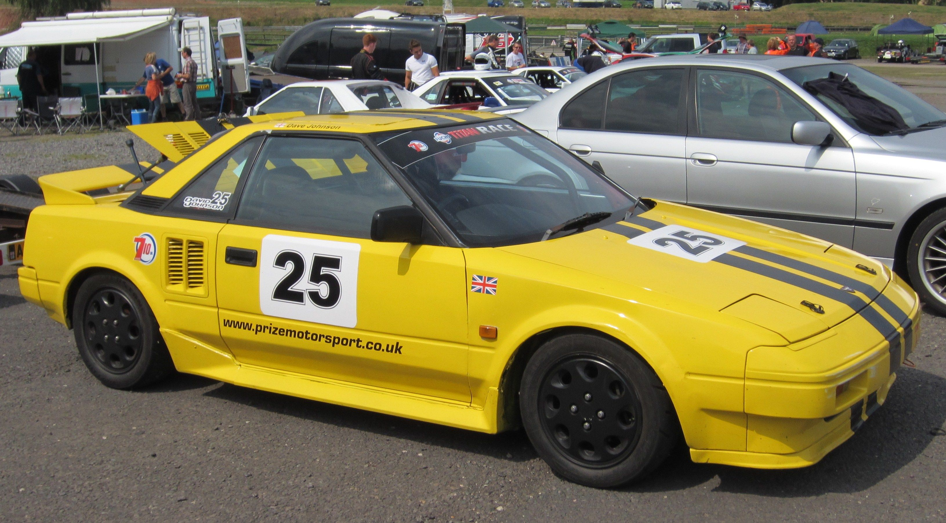 MR2 Race Series - run excusively for the Mk.1 MR2.
