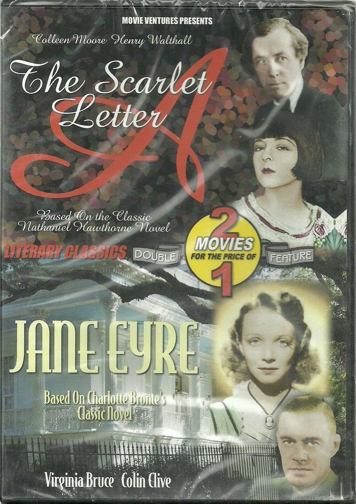 The Scarlet Letter/Jane Eyre (DVD, 2004)2 classic movies