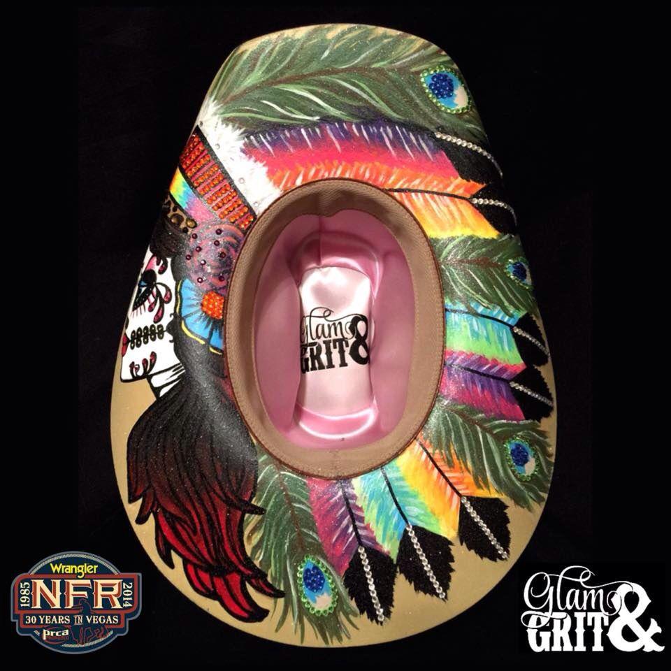 Fallon Taylor s NFR Glam   Grit Hat  c5dec63730cf
