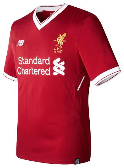 8430510ce1163 Liverpool 17-18 Home Kit Released - Footy Headlines | animals ...