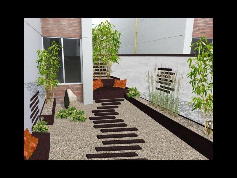 jardines minimalistas con bambu buscar con google