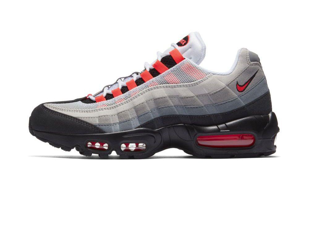 Sezon wiosenny przyniesie nam od Nike kolejną ciekawą wersję butów Air Max  95. Przed Wami oficjalne zdjęcia kolorystyki nazwanej Solar Red, która  powróci do ...