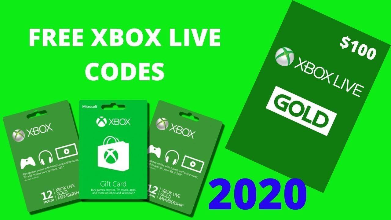 Free Xbox Live Codes 2020 Reddit - DFRETZ