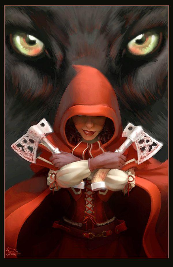 Red Riding Hood - Poster by dizzyclown.deviantart.com on @deviantART