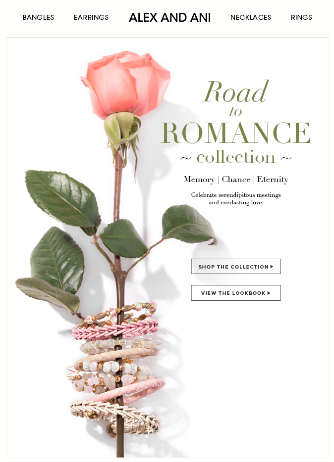 Alex Ani Valentine S Day Email Subject Line Our Newest