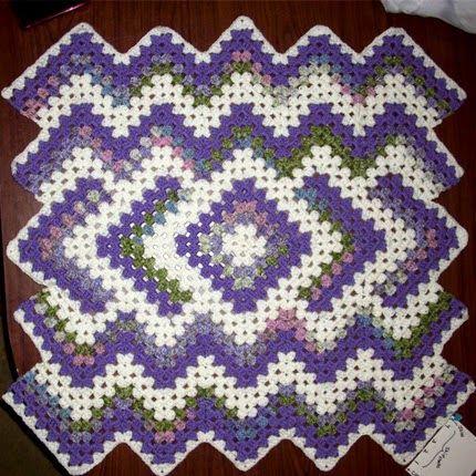 Crochet For Children: Drop in the Pond Lap blanket (Free Pattern ...