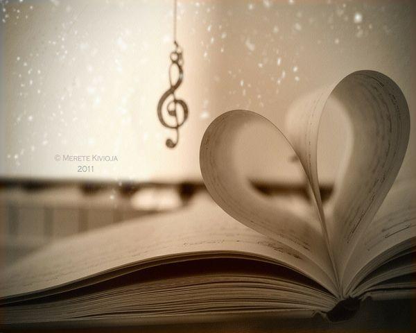 Love Music Books, wallpaper