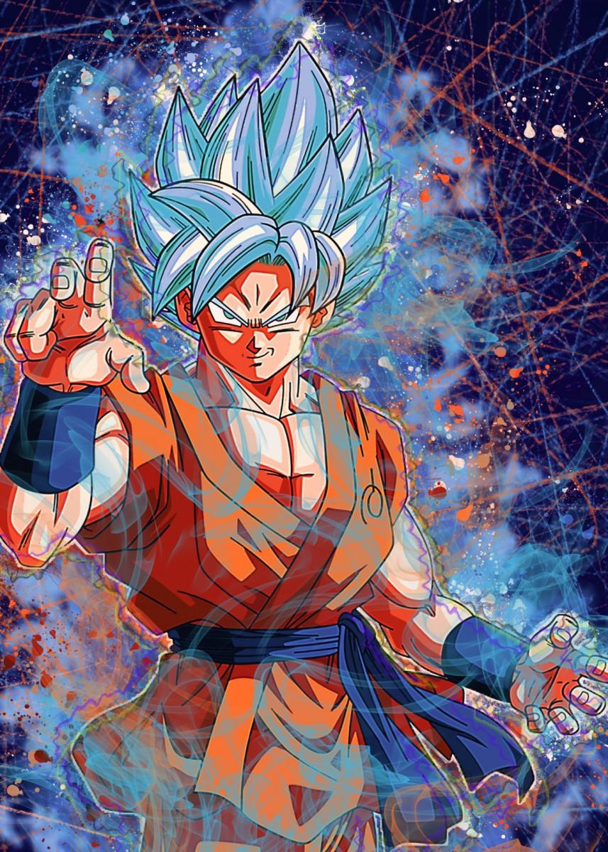 Goku super saiyan blue Anime & Manga ...
