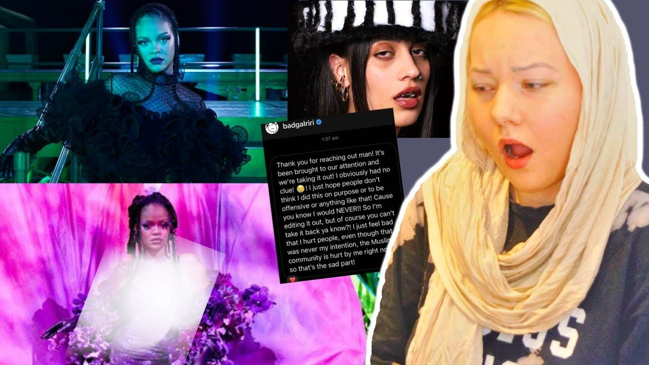 Rihanna used Hadith in Doom Song | Savage X Fenty Show | 1 Icelandic Muslimah Reaction