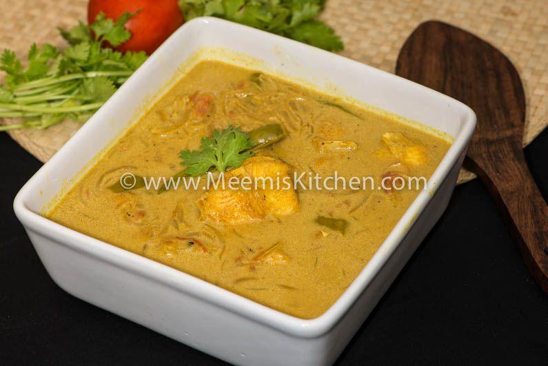 Fish Caldine (Goan Fish Curry)