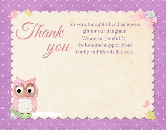 thank you card message  richery glow  thank you cards
