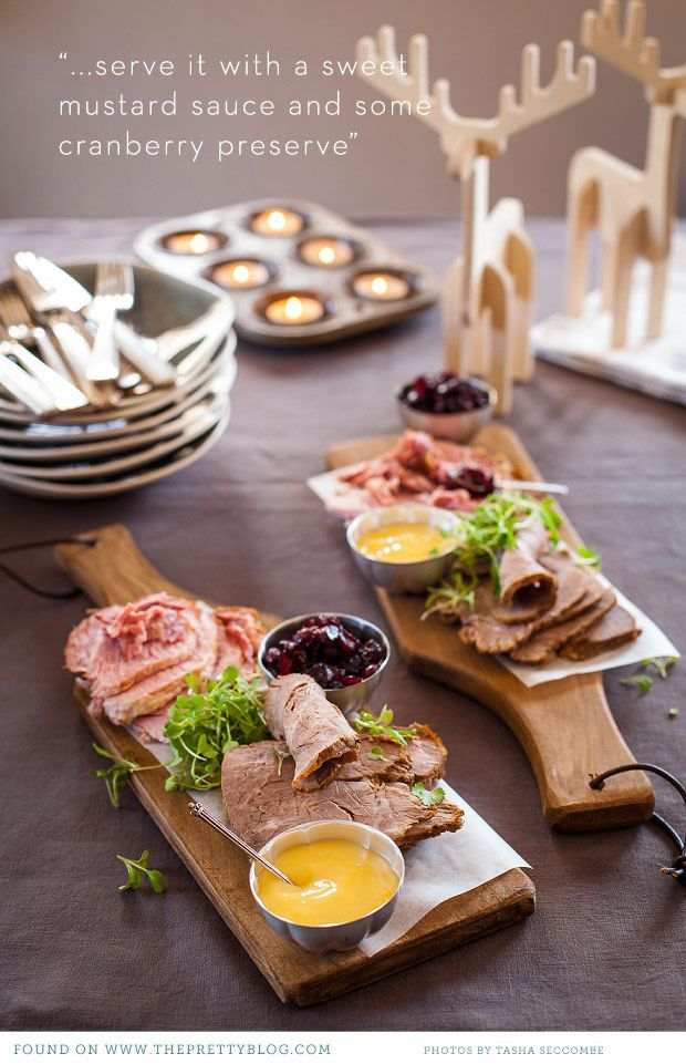 Cold Christmas Platter Gammon Recipes Food Platters Food