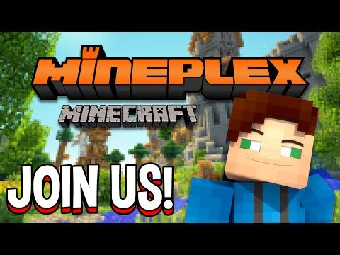 Minecraft Mineplex Skywars PvP Arcade Games Survival Games And - Minecraft pvp spiele