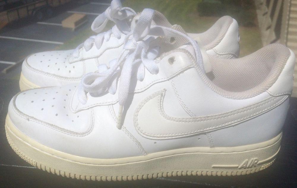 size 40 a1344 581e9 men shoes Nike Air Force 1 82 white classic size 8.5 (eur 40)  Nike  Walking