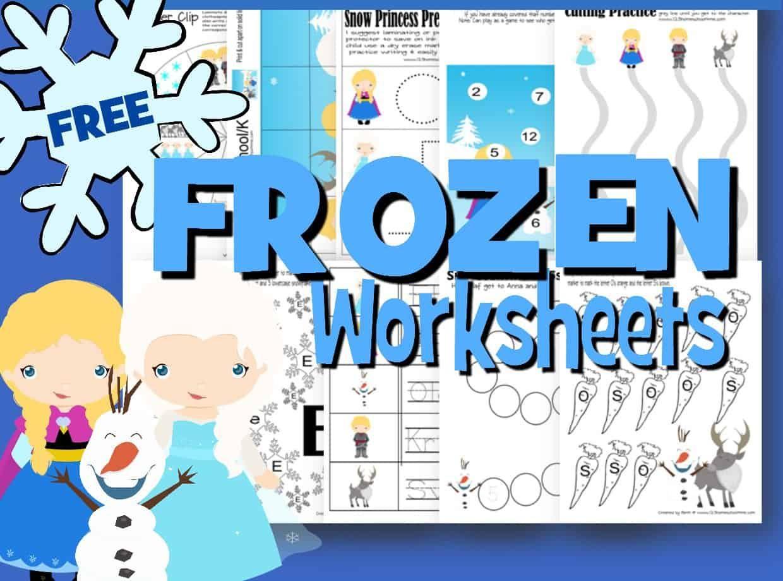 Frozen Worksheets For Kids