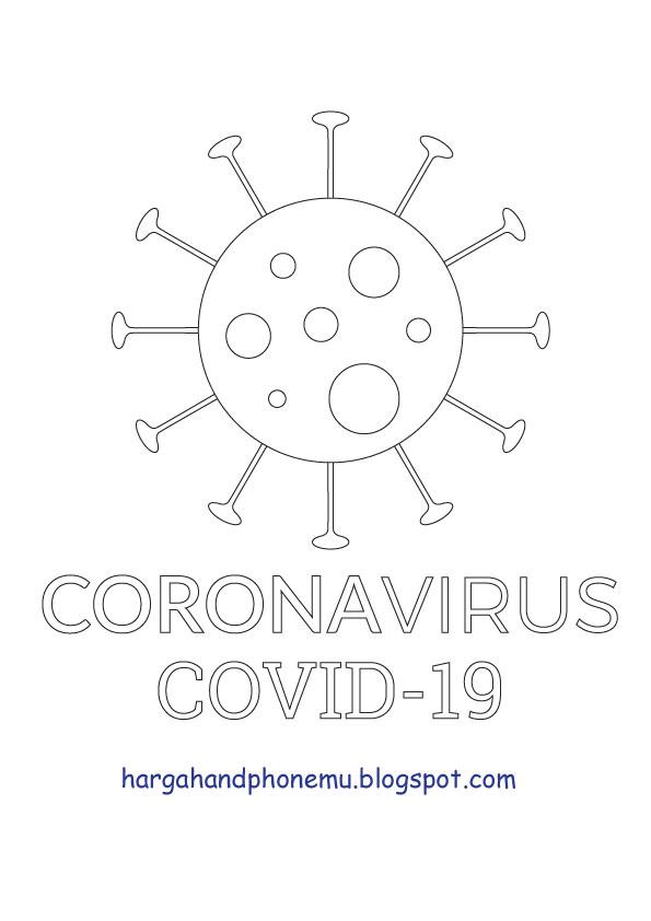 Gambar Corona Anak Tk : gambar, corona, RIZKI, MAULANA, Sketsa, Corona,, Sketsa,, Gambar