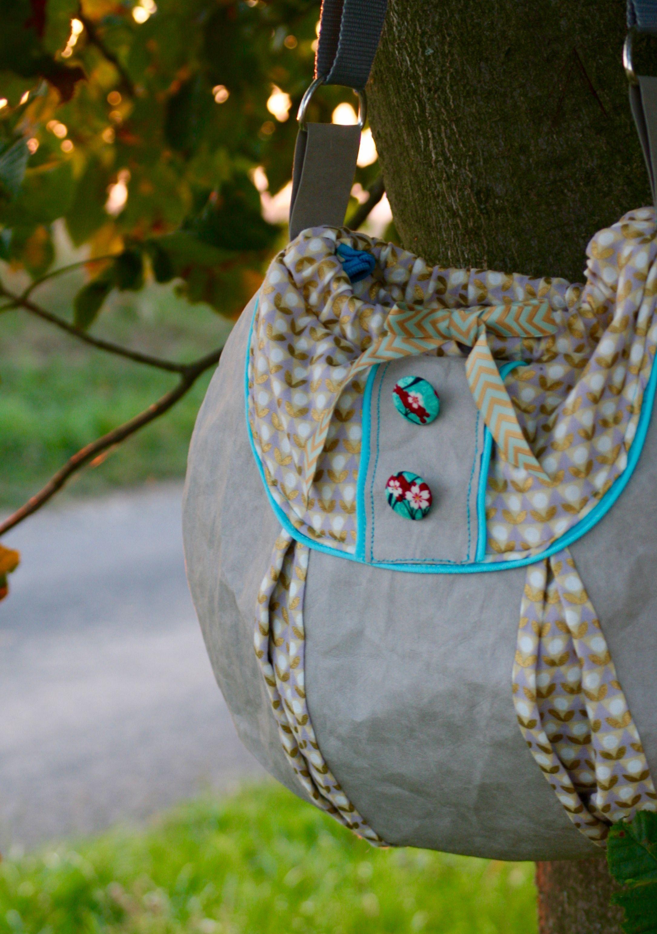 Ursel Bag aus SnapPap von Eleonore | SnapPap ♥ Taschen & Täschlein ...