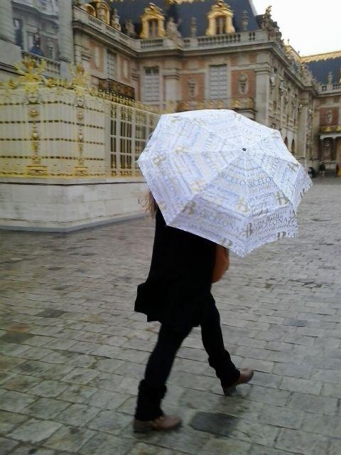 Tarde chuvosa em Versailles