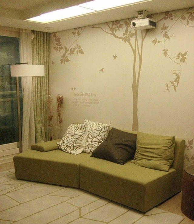 Photo of こんな空間にはこれ!スペース別に楽しむ木のウォールステッカー31選