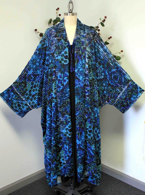 DARE2BSTYLISH. Designer Plus size Lagen look Coat/Duster will fit size 3XL TO 6XL. High End Textured Exotic Print fabric with Spandex. Absolutely
