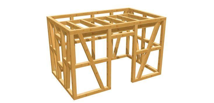 Gartenhaus günstig selber bauen! holzbauplan.de (mit
