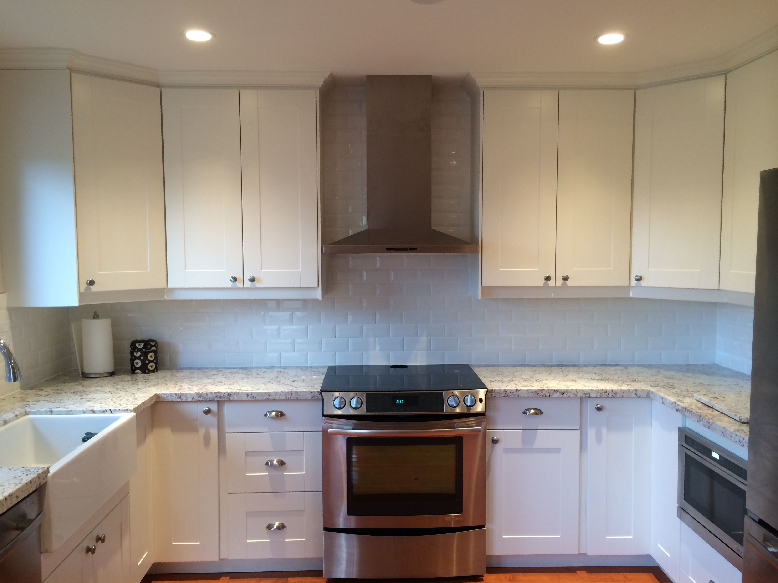 A Refreshing Ikea Facelift For A Canadian Kitchen Kitchen Cabinetry Design Ikea Kitchen Design Kitchen Cabinets