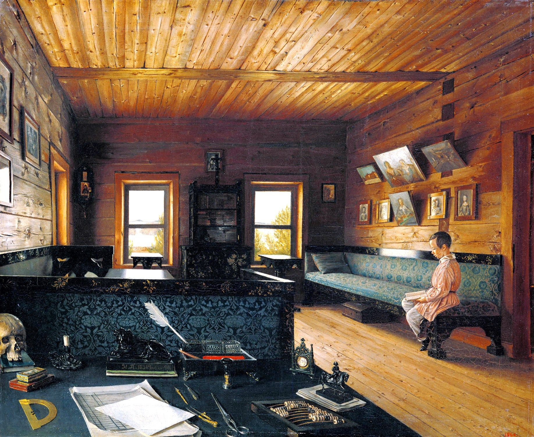 Interior - Russian house, Dr. Zhivago rustic 19th Century ...