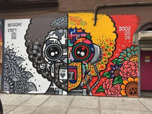 Funqest In East Harlem Nyc 2019 Murals Street Art Graffiti Wall Art Nyc Graffiti Art