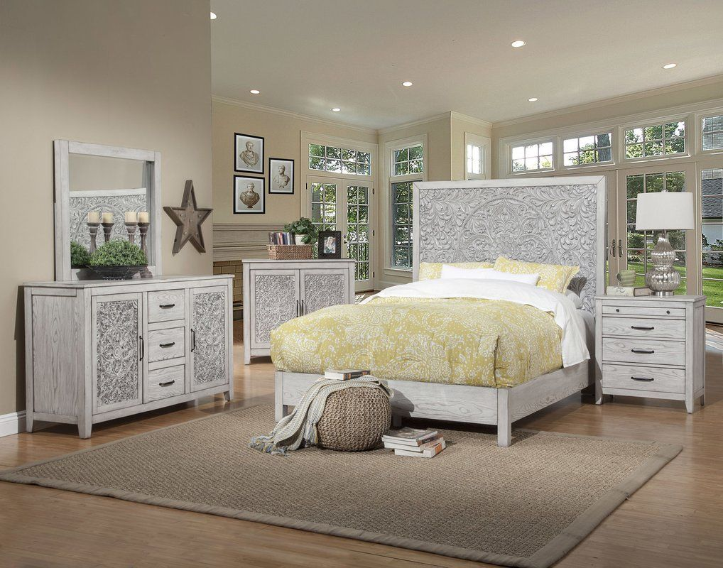One Allium Way Orellana Panel Configurable Bedroom Set