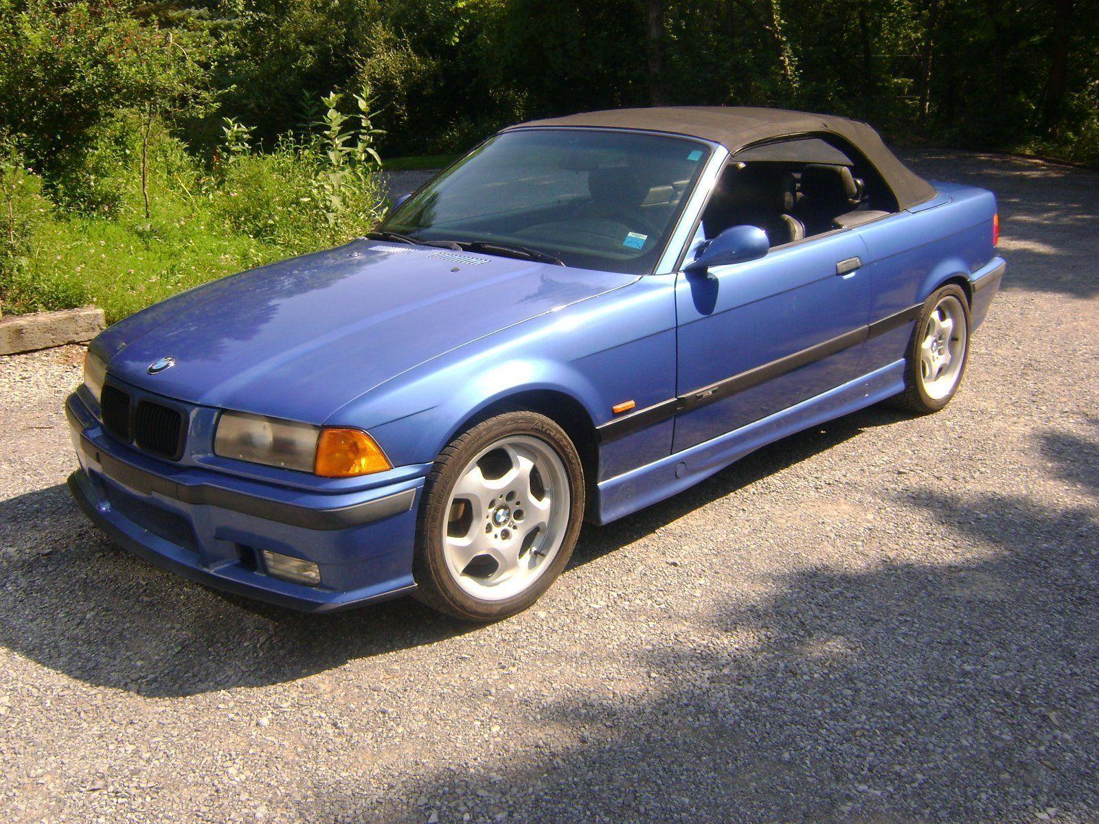 nice bmw 2017: 1998 bmw m3 1998 bmw e36 m3 blue convertible 5