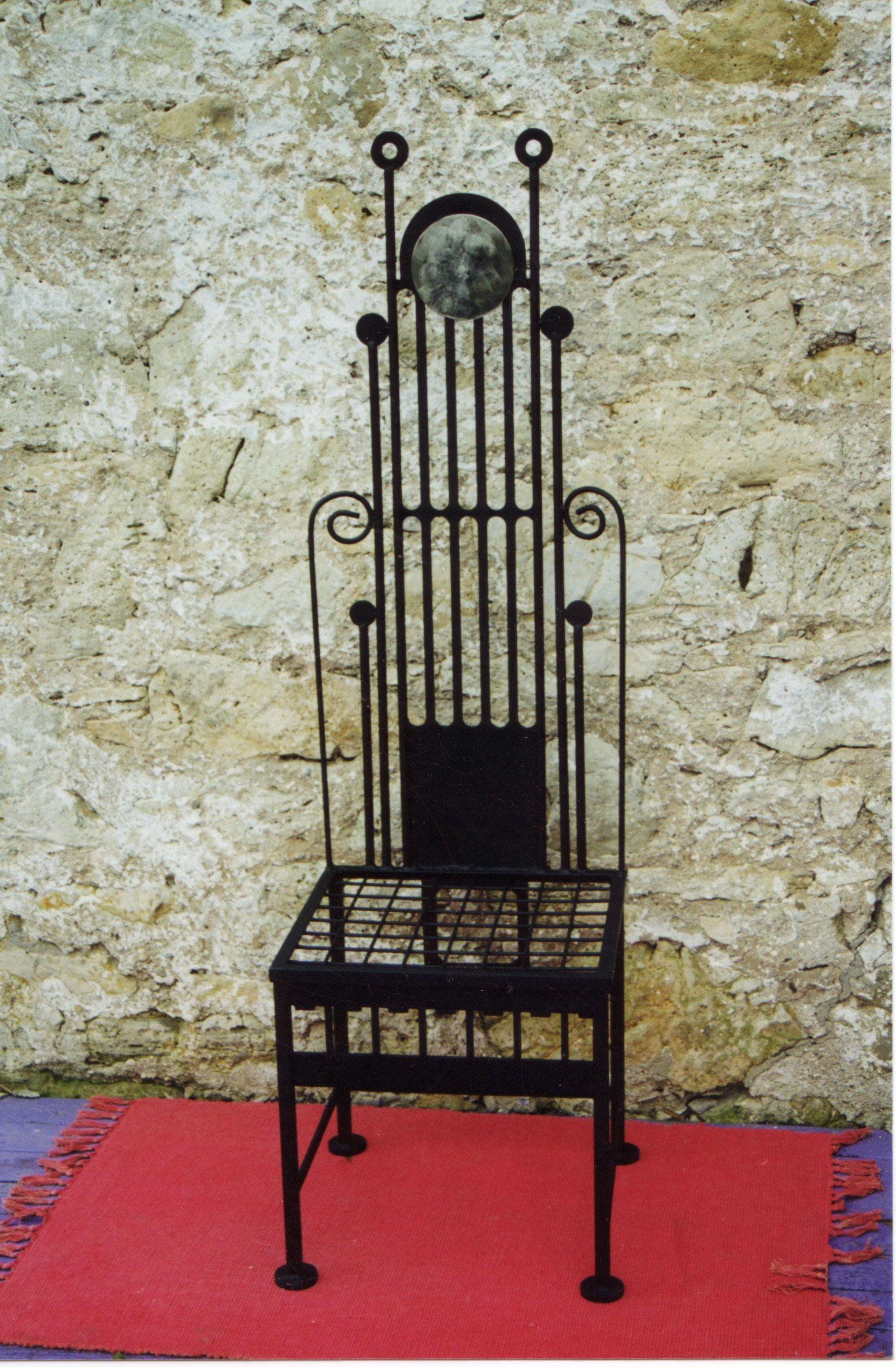 Metal Chair Made By Sarie Marais Artistic Design