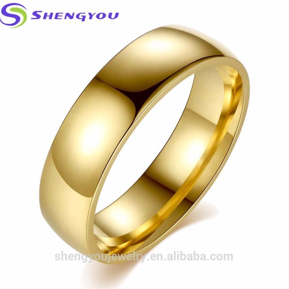 Beautiful Finger Metal Ring Simple Latest Gold Ring Designs For