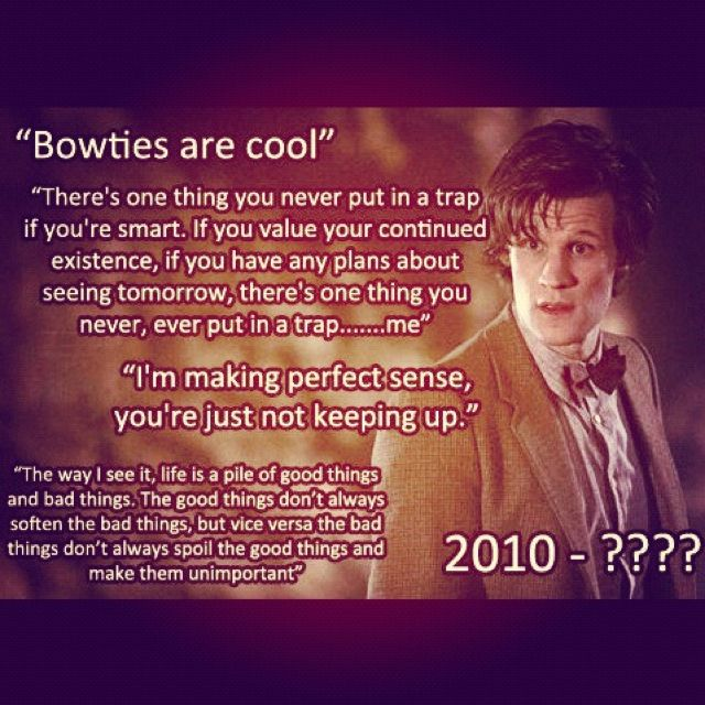 Eleventh Doctor quotes.   Random :P   Eleventh doctor ...