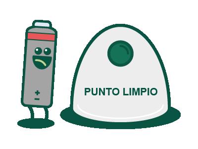Pilas Y Baterías Podemos Encontrarlas A Diario En El Mando De La Tele El Ratón Del Ordenador O Contenedor De Residuos Reciclar Reutilizar Botellas De Plástico