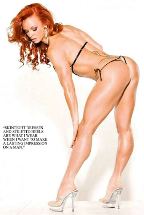 Rather Excuse, Redhead female fitness girls good words