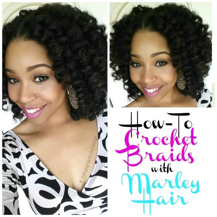 How To: Crochet Braids W/ Marley Hair - Youtube How To: Crochet Braids W/ Marley Hair - Youtube Crochet Hair Styles youtube crochet hair styles