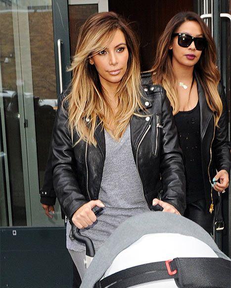 Kim Kardashian Blonde Hair After Baby | www.pixshark.com ...