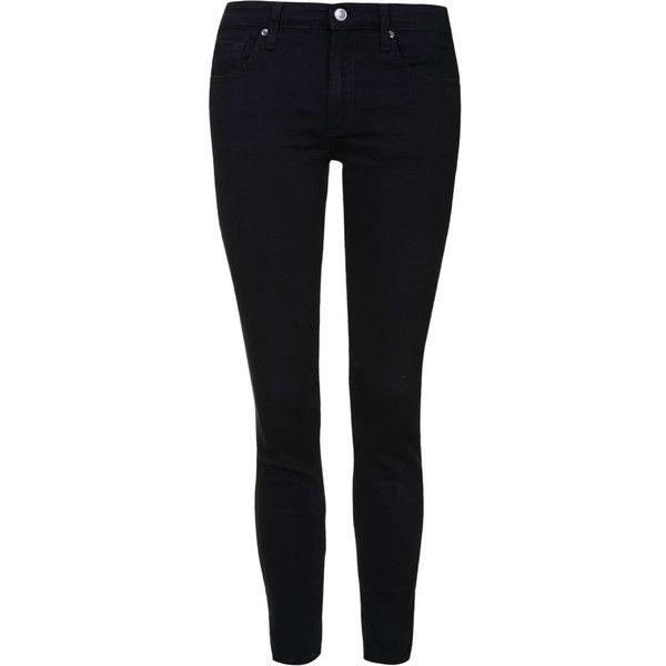 Topshop petite black skinny jeans