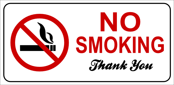 Pin Di No Smoking