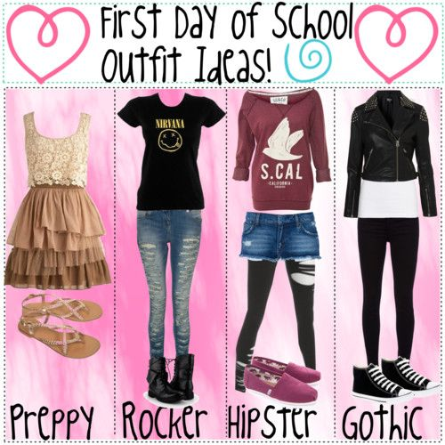First Day Of School Outfit Ideas First Day Of School Outfit