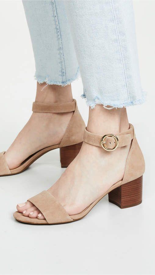 cc5fdee59cc MICHAEL Michael Kors Lena Flex Mid Sandals in 2019