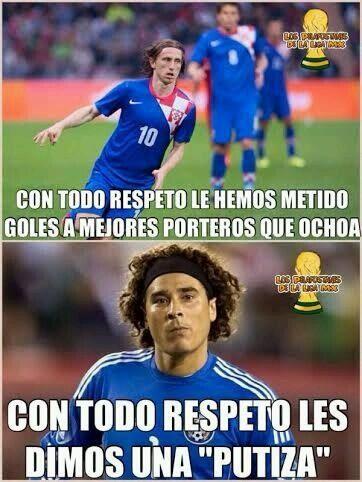 Con Todo Respeto Memes Mexico Mundial2014 Brasil2014 Espanol Futbol Mex Cro Baseball Cards Soccer Memo