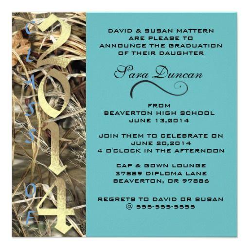 2014 Graduation Invitations Image collections Invitation Templates