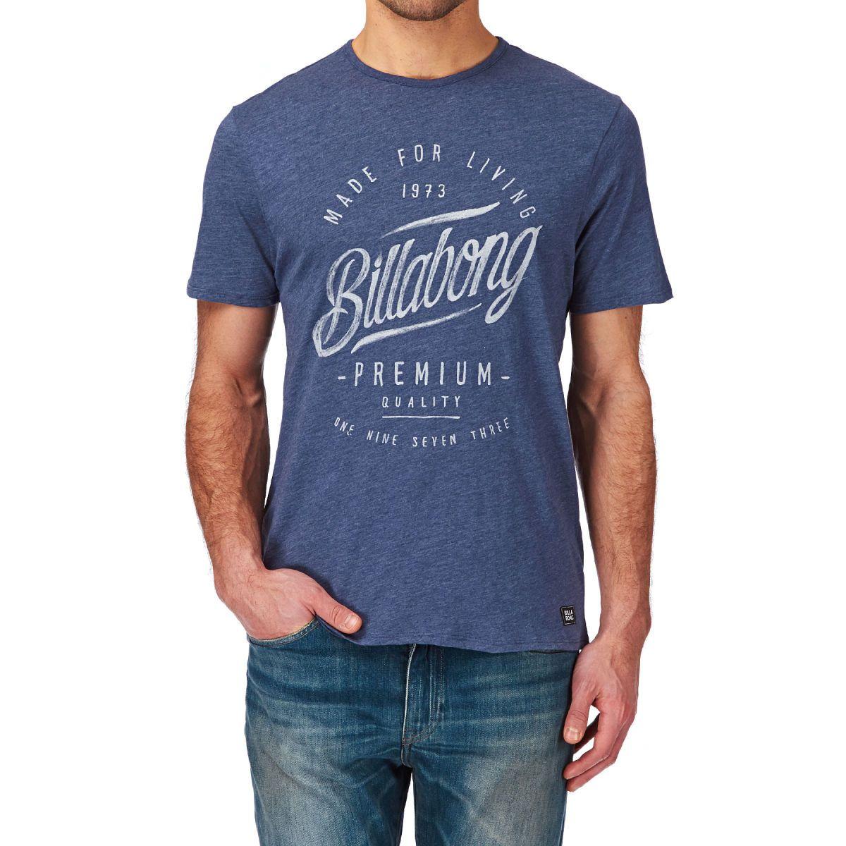 Billabong T-shirts - Billabong Ransom T-shirt - Indigo