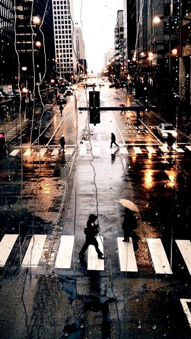 London England Iphone Wallpaper Cross Roads In Rain Rainy Days Pinterest Iphone