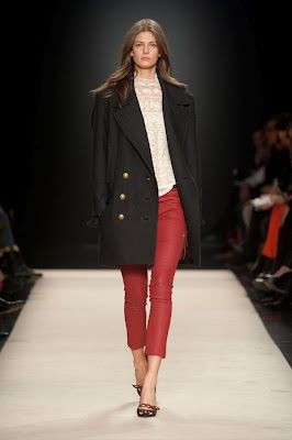 red jeans and broderie - Isabel Marant AW12