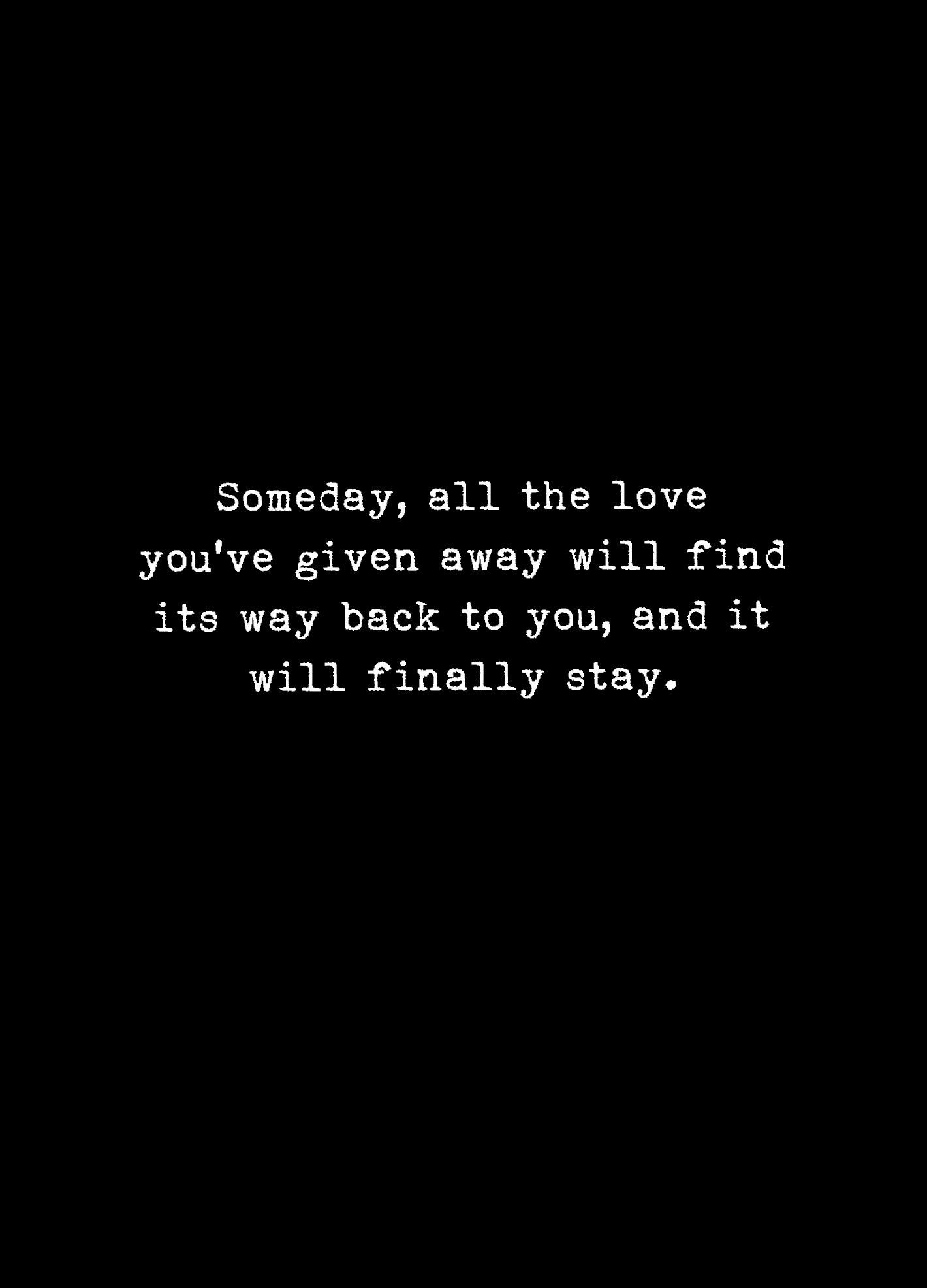 It Will Stay. | Relationship Problems Quotes, Inspirational