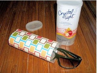 I was just looking for something to do with my Crystal light containers. Perfect:)