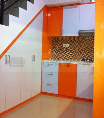 warna lemari bawah tangga - lemarila