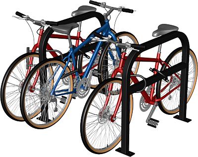 Staple Rack Cyclesafe Bike Racks Bike Shelter Bicycle Parking